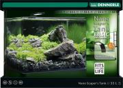Аквариум Dennerle NANO scaper's tank Basic Style LED, 55 л