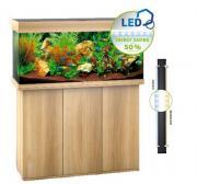 Аквариум JUWEL Рио 180 LED, 180 л, 101х41х50 см (светлое дерево)