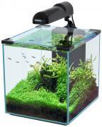 Аквариум для рыб Aquatlantis Nano Cubic 30, черный, 30 л