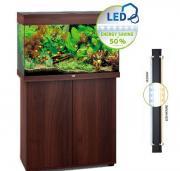 Аквариум JUWEL Рио 125 LED, 125 л, 81х36х50 см (темное дерево)