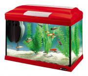 Аквариум для рыб Ferplast Cayman 40 Colours, красный, 21 л