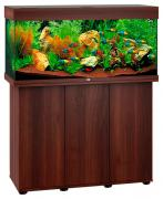 Аквариум для рыб Juwel Rio 180 LED, влагозащитная поверхность, темное дерево, 180 л
