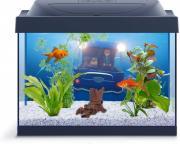 Аквариумный комплекс для золотых рыбок Tetra Миньоны Goldfish, с LED освещением, 30 л