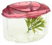 Аквариумный комлпекс для рыб Hagen Marina Betta Kit Burgund, розовый, 2 л