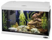 Аквариум для рыб Ferplast Capri Led, белый, 40 л