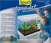 Tetra AquaArt GoldFish аквариумный комплект, белый, 20 л