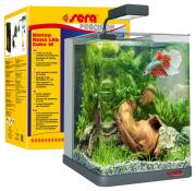 Нано-аквариум Sera Biotop Nano LED Cube, с изогнутым стеклом, 16 л