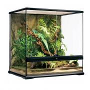 Террариум для рептилий Exo Terra Medium, из силикатного стекла, 60х45х60 см