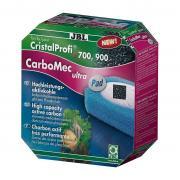 Уголь JBL CarboMec ultra Pad Сверхактивный активир. для фильтров CristalProfi е700/е900 500мл