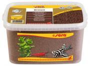 Аквариумный грунт Sera Gravel Brown коричневый, ? 2-3 мм, 6 л