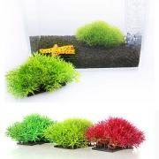 Оформление аквариума Водное растение Искусственная пластик