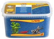 Грунт Sera Gravel Blue для аквариума, голубой, ? 2-3 мм, 6 л