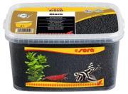 Аквариумный грунт Sera Gravel Black черный, ? 2-3 мм, 3 л