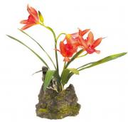 "LUCKY REPTILE Декоративное растение ""Orchid red"""