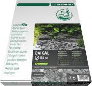 Грунт природный Dennerle Plantahunter Baikal 10-30 мм, черный, 5 кг