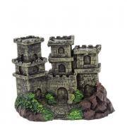 """Декор Prime """"Замок с тремя башнями"""", пластик, 120х80х85 мм"""