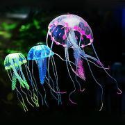Оформление аквариума Медуза Силикон