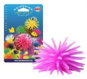 FAUNA INT 4,5 см х 4,5 см х 4 см декорация из силикона фиолетовый коралл