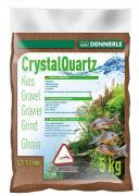 Грунт Dennerle CRYSTAL QUARTZ GRAVEL, светло-коричневый, 5 кг