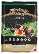 Грунт питательный DENNERLE SHRIMP KING ACTIVE SOIL для аквариумов с креветками, 8 л