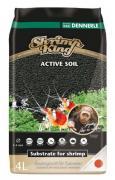 Грунт питательный DENNERLE SHRIMP KING ACTIVE SOIL для аквариумов с креветками, 4 л