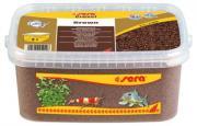 Аквариумный грунт Sera Gravel Brown коричневый, ? 2-3 мм, 3 л