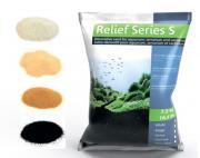 Песок декоративный Prodibio Relief Series S, блестящий черный, 7,5 кг