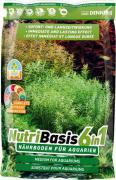 Субстрат питательный Dennerle NUTRIBASIS 6in1 для аквариумных растений, пакет 4,8 кг