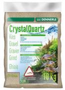 Грунт Dennerle CRYSTAL QUARTZ GRAVEL, природный белый, 10 кг