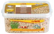 Аквариумный грунт Sera Gravel Beige натуральный, бежевый, ? 2-4 мм, 3 л