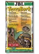 Натуральный субстрат JBL TerraBark M из сосновой коры для тропических террариумов, 10-20 мм, 20 л