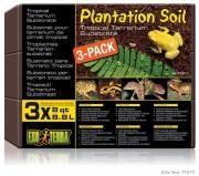 Exo Terra Plantation soil субстрат натуральный кокосовая крошка, 3х8,8 л
