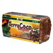 Натуральная субстрат JBL TerraCoco Compact кокосовые чипсы для террариумов, брикет 450 г