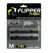 Сменные лезвия из нержавеющей стали для скребка Flipper Max, 2 шт.