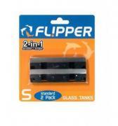 Сменные лезвия из нержавеющей стали для скребка Flipper Standard, 2 шт.
