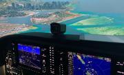 Полет на авиатренажере самолета Cessna 172 (60 мин., выходной день)