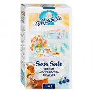 Соль морская Marbelle пищевая мелкая 750 г
