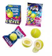 Жевательная резинка Fini Теннисные мячики с начинкой лимон-лайм 5 гр x 200 шт