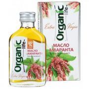 Organic Life Масло пищевое нерафинированное амарантовое, 100 мл, Organic Life
