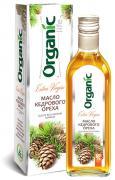 Organic Life Масло пищевое нерафинированное кедровое, 500 мл, Organic Life