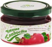 Умные сладости Варенье брусничное, со стевией, 250 гр, Умные сладости