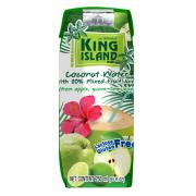 King Island Кокосовая вода с фруктовым соком (лайм, гуава, яблоко) KING ISLAND, 250 мл (срок до 03/02)