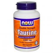 Энергетики NOW Double Strenght Taurine 1000 мг 100 капс. Нейтральный Энергетики