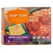 Фрикадельки Мираторг с гречкой под красным соусом замороженные