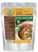 Суп крестьянский с грибами стерилизованный первое блюдо 300 гр (кронидов)