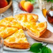 Пирог с персиком (Ферма Митрофанов Е.О.) 800 гр