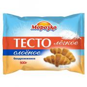 Тесто слоеное Морозко легкое бездрожжевое 500 гр