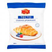 Тесто Черемушки слоеное дрожжевое 500 гр