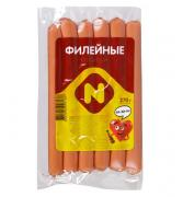"""Сосиски """"Филейные"""" ц/о в/у 0.270 кг Останкино"""