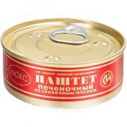 Консервы ЙОМ мясные паштет печеночный со сливочным маслом №1 100 г